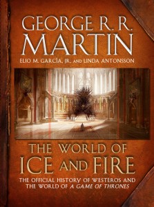 "Posible portada de ""The World of Ice and Fire"""